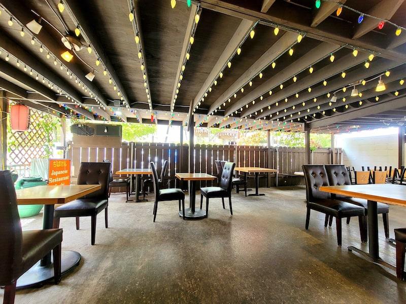 Honolulu open air restaurant chiba ken