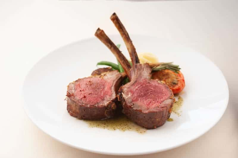 Hoisin BBQ Roasted Rack of Lamb michel's