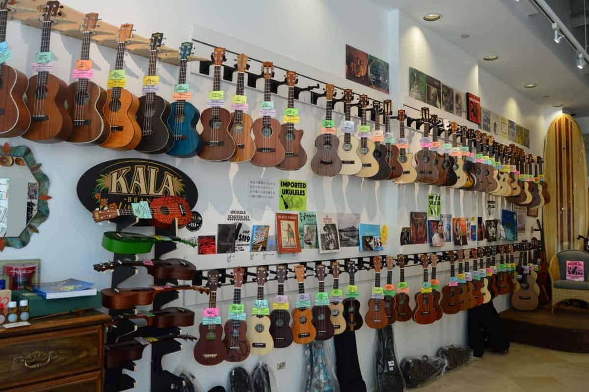 ukulele store in hawaii