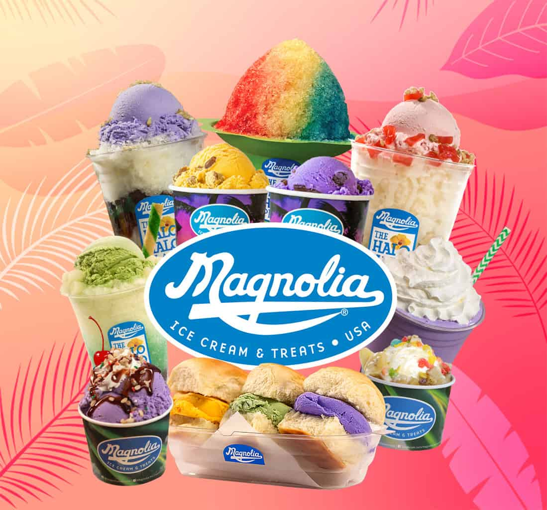 Tropical fruit goodness churned into a delicious, creamy ice cream.