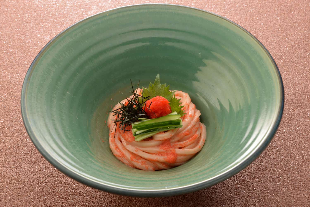 tsuru ton tan Mentaiko Caviar Udon