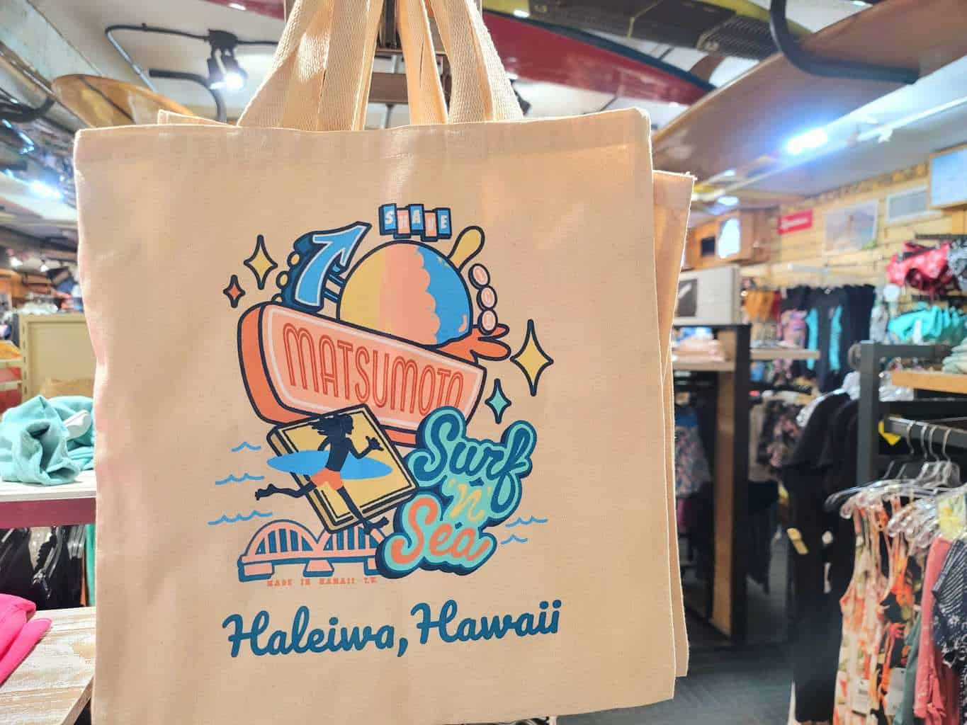 Collaboration Tote bag with Matsumoto Shave Ice!