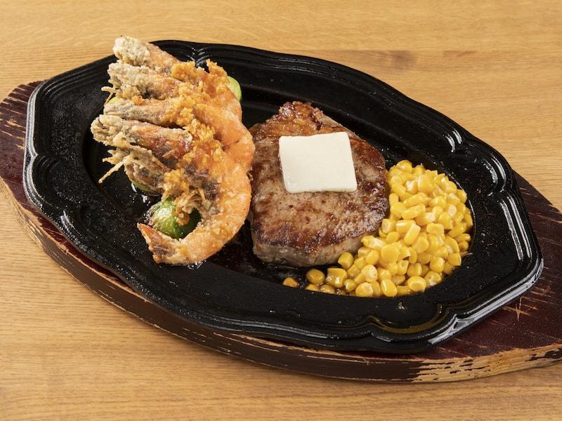 Ribeye 1/2 lb with Garlic Shrimp