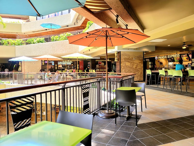 Located on the 2nd floor of the Royal Hawaiian Center food court