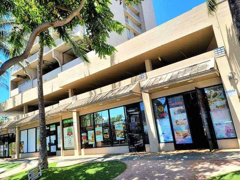 Located at 1917 Kalakaua Ave. 5 Min Walk from Hilton Hawaiian Village!