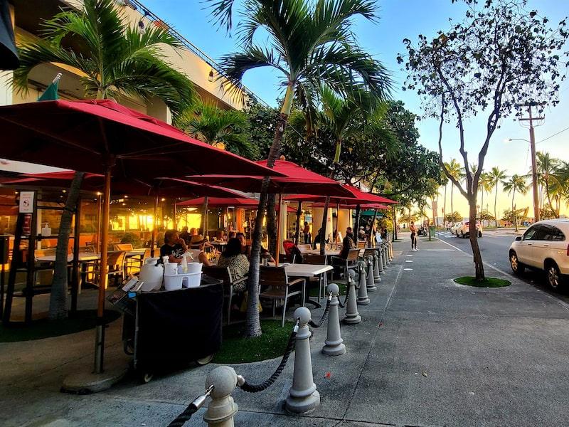 honolulu open air restaurant arancino