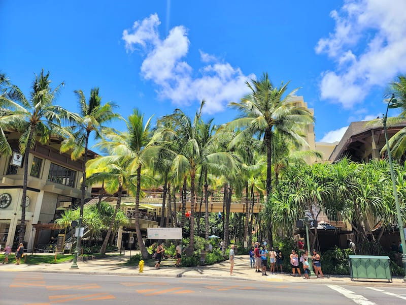Centrally Located in the 2nd floor of Royal Hawaiian Center