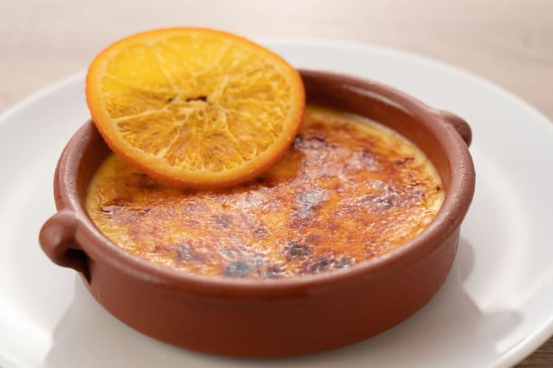 crema catalana arancino di mare