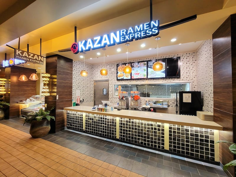 Located on the 2nd floor of the Royal Hawaiian Center food court.