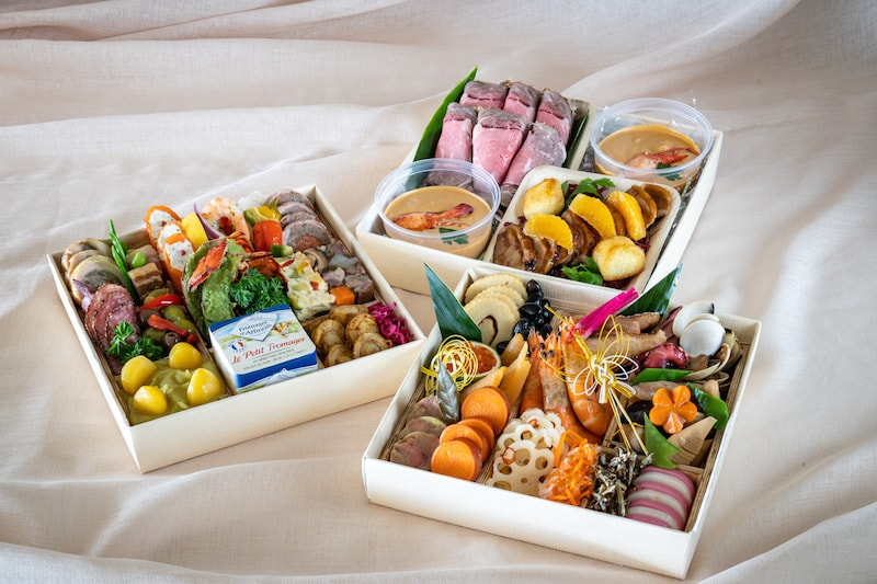 Limited to 50 boxes! Michel's Osechi is now on sale!