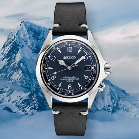 Seiko commemorates iconic 1959 ALPINIST with U.S. limited edition.