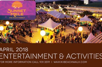 Don't miss out all the fun events at the Beach Walk!