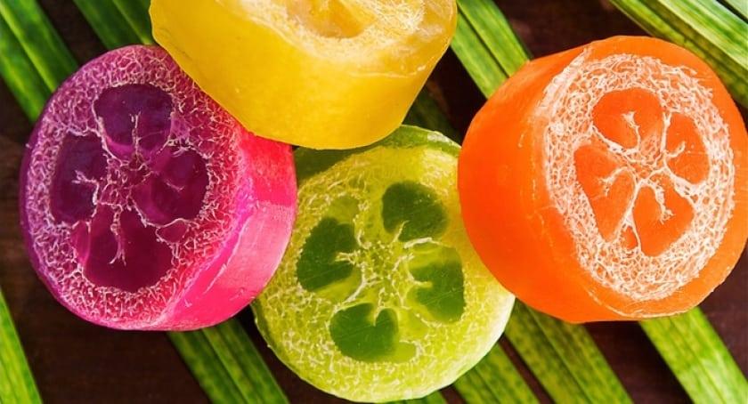 Loofah Soap in a variety of tropical fragrances. Kukui Oil, Silky Lotions, Bath Salts, Handmade Cold Press Soap/Pikake, Plumeria Fragrances/ Bath BombsBath Bombs