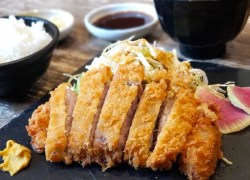 So tasty! Berkshire Pork Tonkatsu at Minori