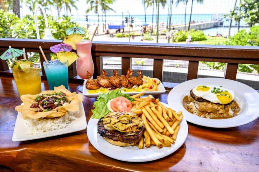 Enjoy the sunshine during the day or the live music at night! Visit us right off the beach in your beach attire.