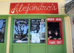 Featured Local Businesses: Alejandro's Mexican Food & Left Wing Chicken