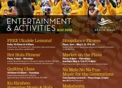 Events at Waikiki Beach Walk in May