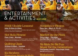 Events at Waikiki Beach Walk in May
