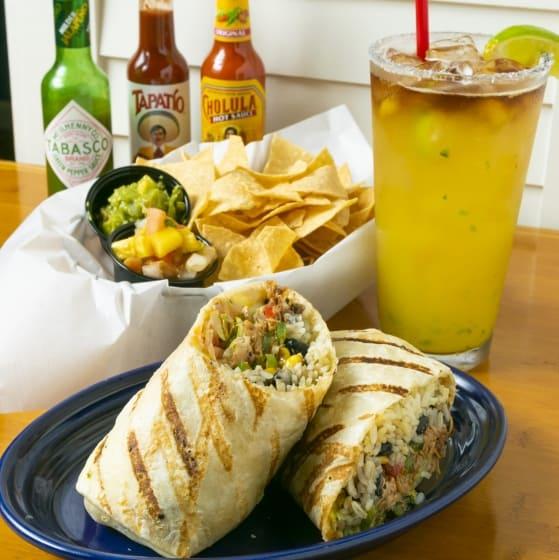 Hawaiian Style Burrito