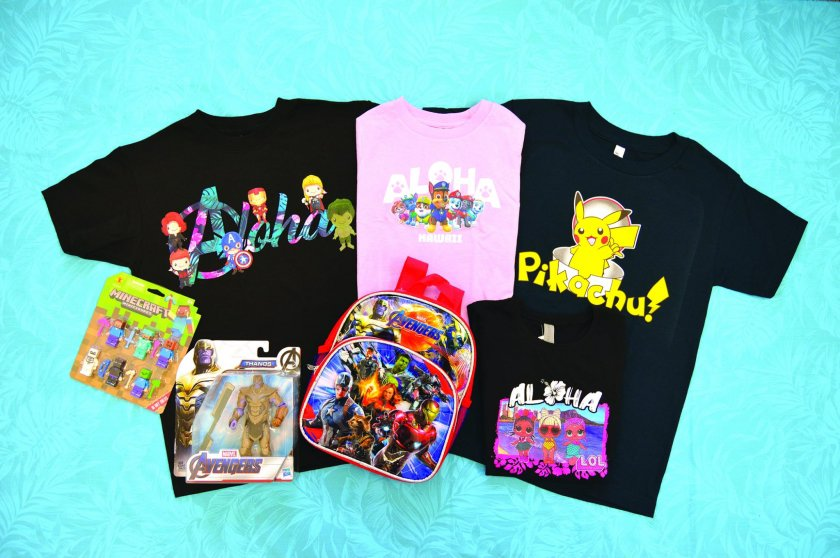 Find Affordable items under $10. Popular cartoon characters such as  Dragon Ball and Tokidoki avilable here!