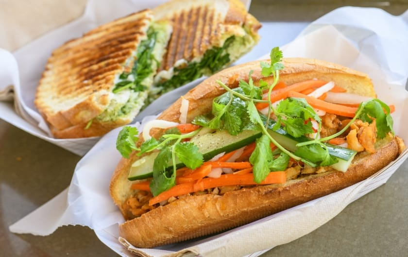 Fresh French Bread and Ingredients, Perfect for Dining In or Take Out