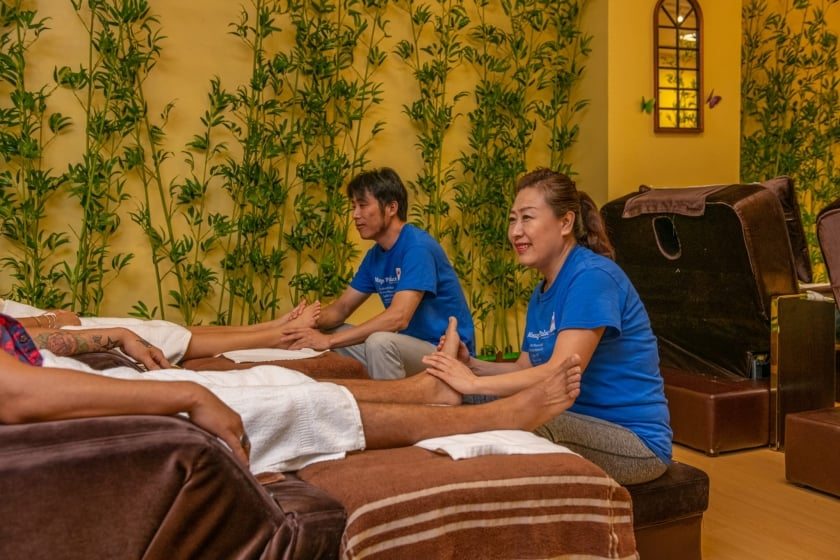 Traditional Chinese Massage Relives Muscle, Nervous tension & Stress