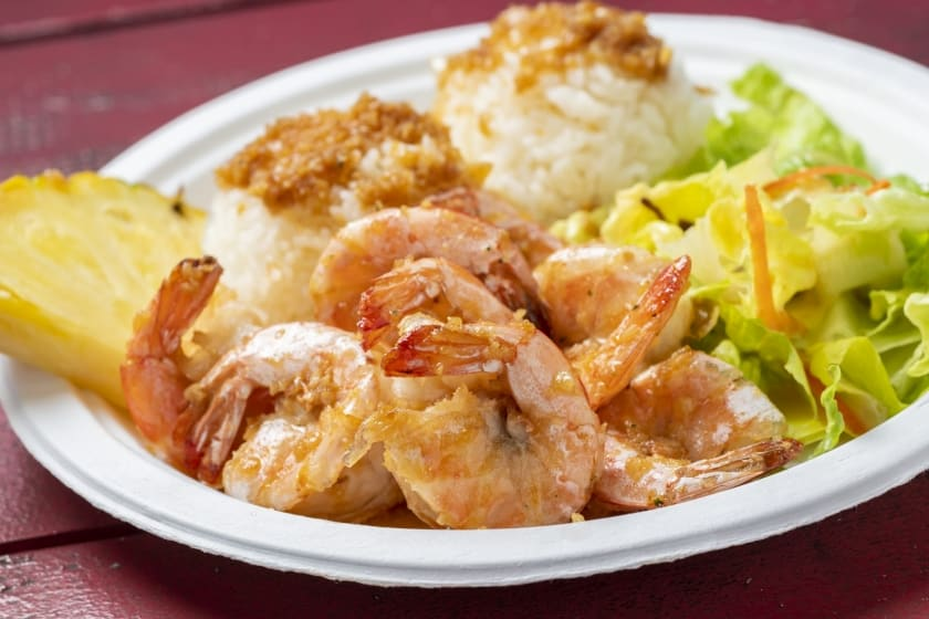 Butter Garlic Shrimp, Spicy Garlic Shrimp, and more..! $14 each