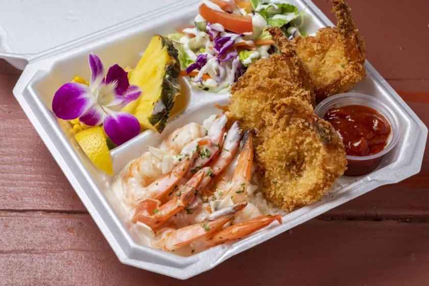 Camaron garlic shrimp