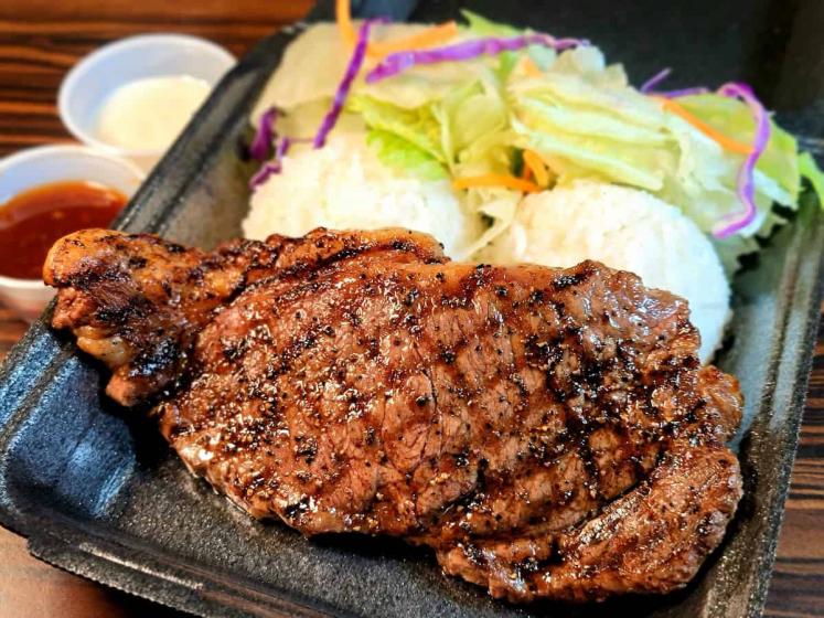 8oz New York Steak is the most popular