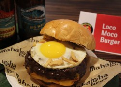 Enjoy Delicious Burgers with Beer & Wine at Mahaloha Burger