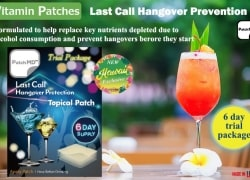 Night Life In Hawaii STARTS RIGHT HERE! Hangover Protection Patch 6 Days Trial Package On Sale Now! *Hawaii Exclusive