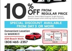 Little Hawaii Rent A Car