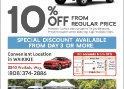 Little Hawaii Rent A Car
