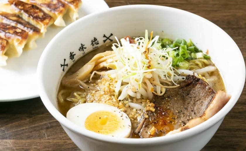 All ramens share a delicious, flavorful beef broth.  Try the most popular item; the Beefy Wild!