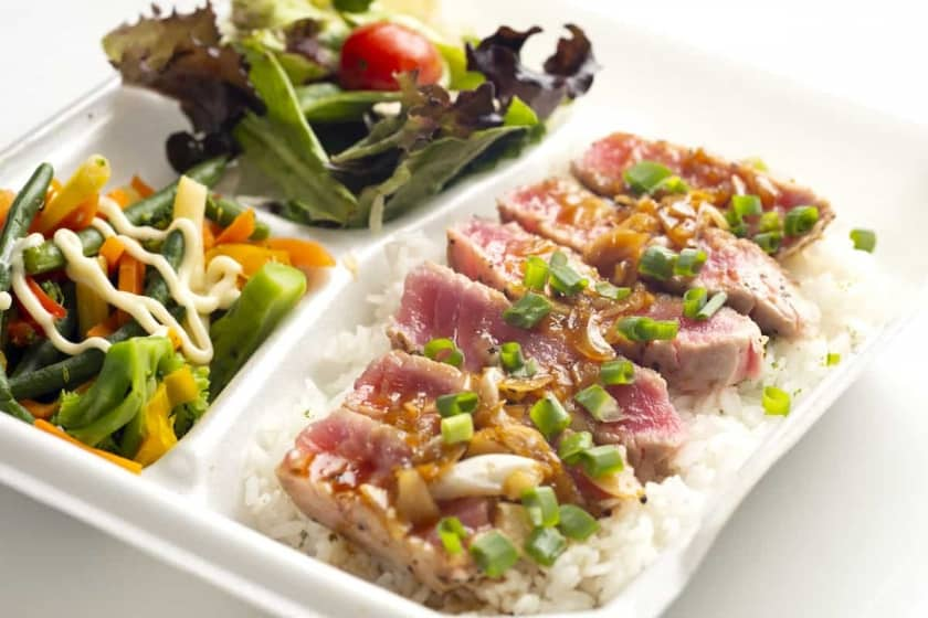 Truly delicious! Ahi Garlic Steak/$13.50