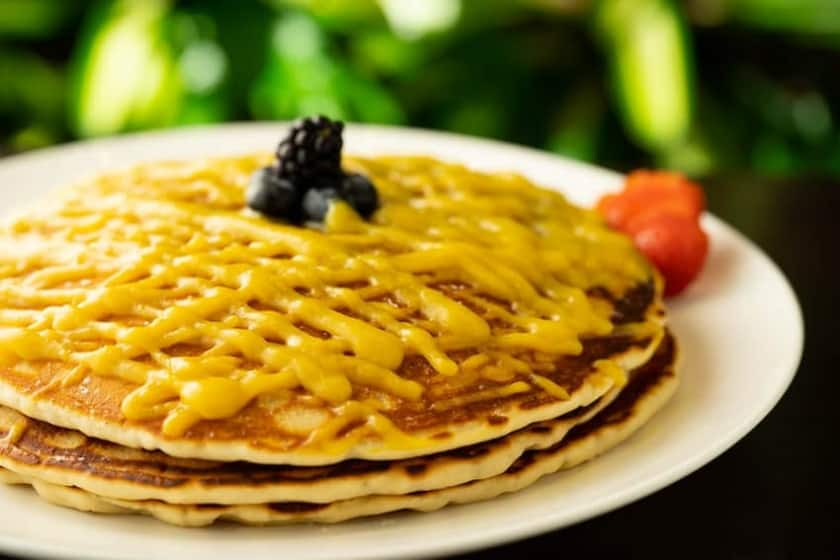 Must Lilicoi (Passion fruits) Pancake !