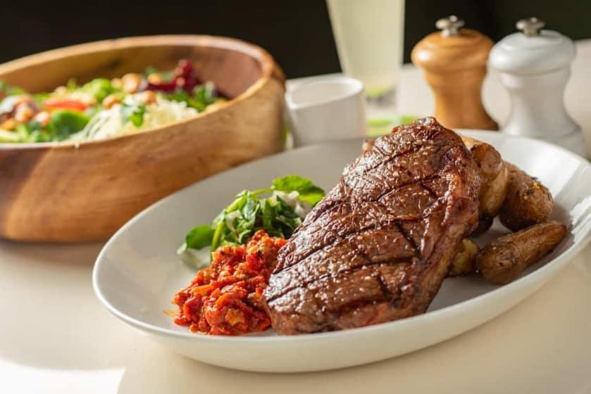 Grass fed organic 14oz New York Steak