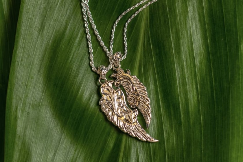 Completely one-of-a-kind original Hawaiian jewelry made just for you.