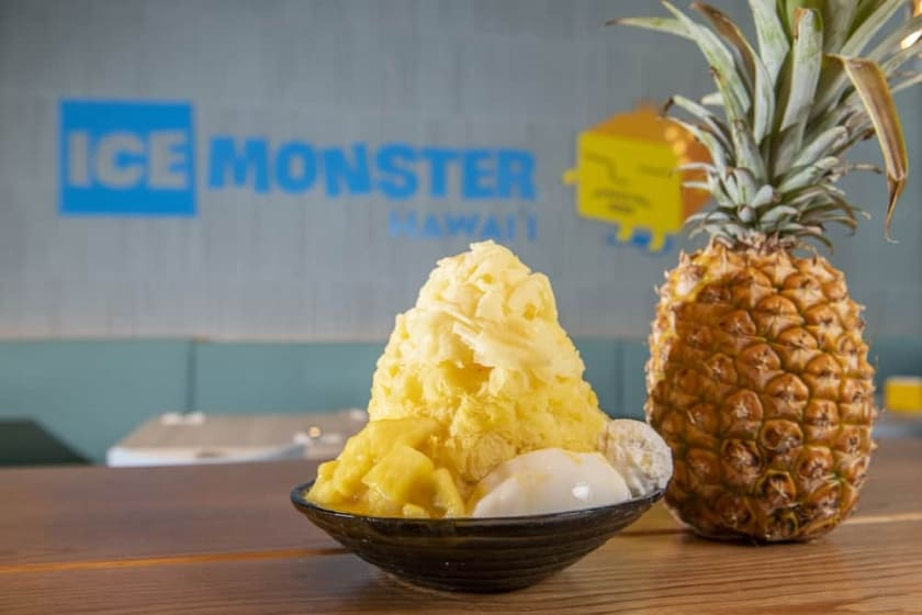 New! Pineapple Sensation made from Local Pineapples.